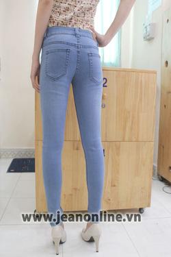 Ảnh số 67: Skinny Mango xếp ly - 2493. Size 26, 27, 28, 29, 30 - Giá: 245.000