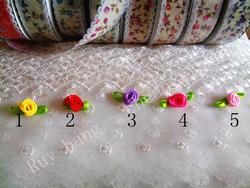Ảnh số 96: hoa satin hồng nhỏ - Giá: 1.000