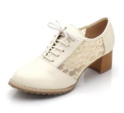 Ảnh số 66: Giày Oxford ren đế gỗ 5p - Giá: 250.000