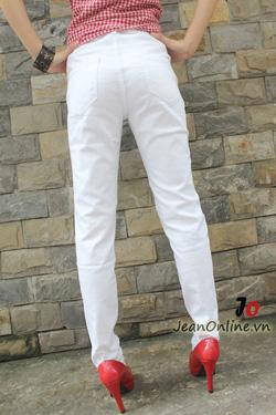 Ảnh số 84: Mango trắng rách - 2456. Size 26, 27, 28, 29, 30 - Giá: 245.000