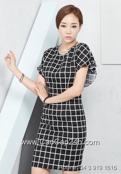 Ảnh số 3: Váy liền thân Hàn Quốc 190819 - Giá: 1.910.000