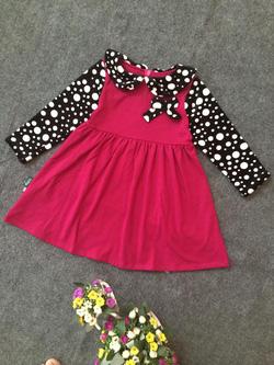 Ảnh số 61: Váy cổ chấm bi - Giá: 10.000