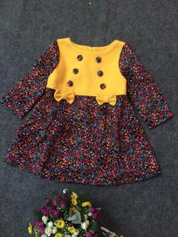 Ảnh số 67: Váy dạ 2 hàng khuy - Giá: 10.000