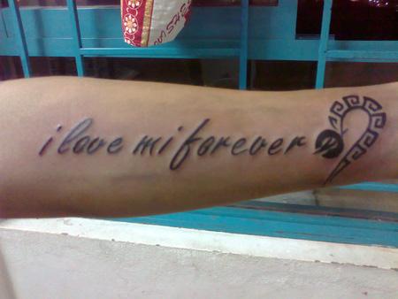 Hãy sở hữu những hình xăm dễ thương, ý nghĩa cho riêng mình nha các bạn. I Love Tattoo. , Ảnh số 23