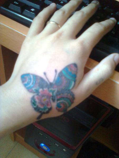 Hãy sở hữu những hình xăm dễ thương, ý nghĩa cho riêng mình nha các bạn. I Love Tattoo. , Ảnh số 26