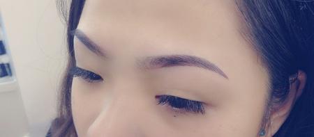 Phun thêu lông mày dáng ngang Hàn quốc, phun eye liner không đau, bắn màu chống thâm môi , nhũ hoa , phun môi pha lê , Ảnh số 4