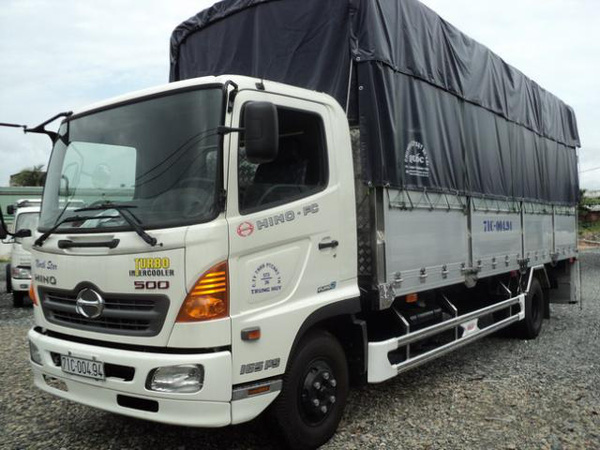 Bán xe tải Hino 6 tấn 4. Giá xe tải Hino 6T4, 6.4 tấn mới cứng