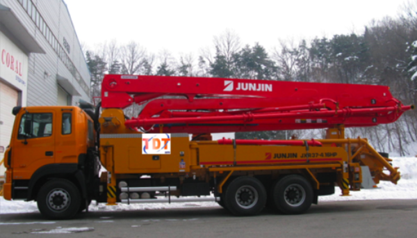 Bán xe bơm bê tông cần Junjin 37m JXR37 4.16HP nhập khẩu nguyên chiếc, sản xuất năm 2011. giá tốt , Ảnh đại diện