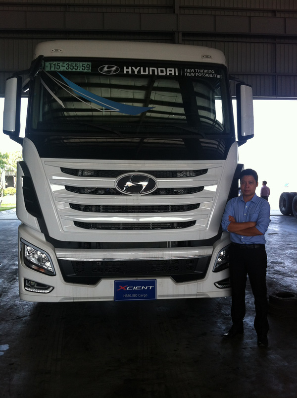 Hyundai XCIENT, Phong cách hoàn toàn mới, Chất lượng mới. , Ảnh đại diện