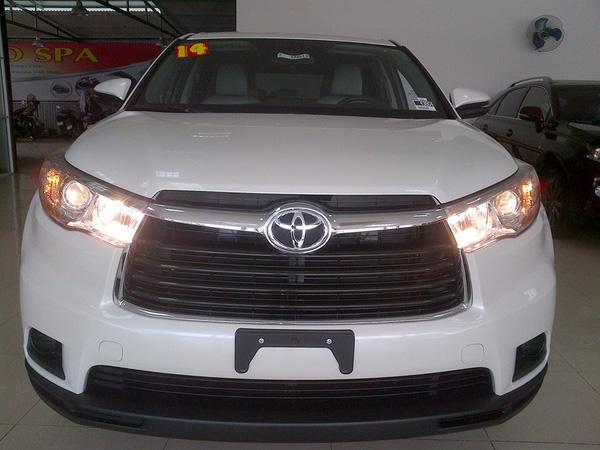 Toyota Highlander 2015 nhập mỹ , Ảnh đại diện