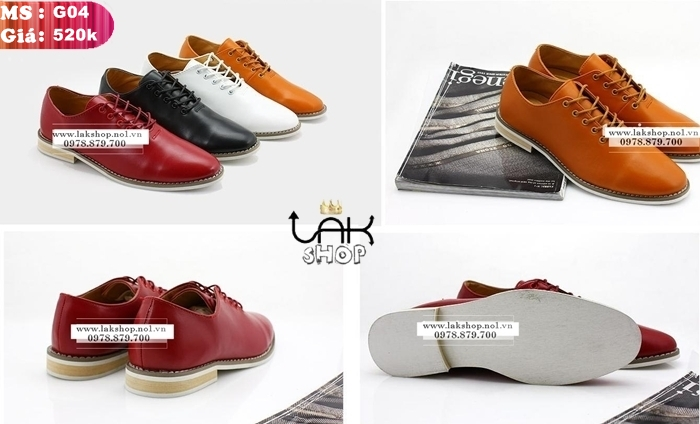 Có ai biết kiểu giày oxford này bán ở đâu ở HCM không ạ.