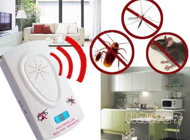 Máy đuổi chuột, muỗi, dán đa năng