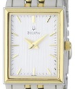 Đồng hồ Bulova Women s 98L146 Classic Two Tone Tank Watch