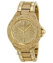 Đồng hồ Michael Kors Camille Swarovski Crystal Encrusted Gold Ion plated Ladies Watch MK5720