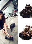 Giày cut out, giày zipper, sandals đế bánh mì cho các bạn tha hồ thể hiện cá tính và gu thời trang của riêng mình