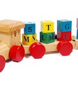 Đoàn tàu chở khói chữ tiếng việt to đại cho bé học nhận biết chữ cái