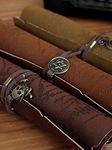Quà tặng độc đáo bất ngờ túi bút giả cổ bản đồ cướp biển Caribe