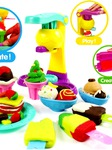Máy làm kem đồ chơi Bộ đất nặn bán buôn bán lẻ