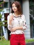 Áo sơ mi Nữ Hàn Quốc hiệu Oran thời trang Hàn Quốc
