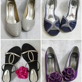 Boots, Giầy cao gót, Giầy bệt, Sandals đế xuồng... size 36, mỗi kiểu còn một đôi, sale cho nhanh gọn nào