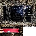 Thanh ly Chanel hộp xích bạc new 95% 100K