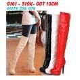 Boot cổ Cao Order Boot Nữ gót cao 13cm