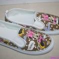 Giày lười thể thao mũi tàu mickey đáng iu sành điệu Shop 123yeah