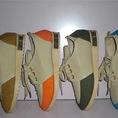 Giày nữ phối màu giữa nẹp inox sau cá tính
