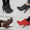 NHỮNG MẪU BOOT CỔ NGẮN ĐÌNH ĐÁM 2013 cập nhật liên tục... boot nữ cổ ngắn cao gót,giày boot nữ cao gót,boot nữ cao cấp