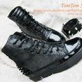 TomTom Shop SALE OFF TẾT 2014 Bán giày Combat Boots nam và nữ , giày nạm đinh, cá tính Hàng có sẵn,không cần order 2013