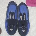 Giày búp bê nữ hình mặt thỏ cực iu