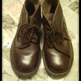 Giày da thật vintage size 37, giày cao gót vintage size 36