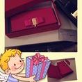 Thanh lý túi xách Salvatore màu hồng