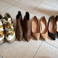 Bầu bì, Thanh lý giày Sneaker đế xuông, bốt da, giày cao gót các loại