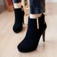 Boots ngắn vui hè nhé các nàng, tiêu chuẩn Châu Âu, kiểu dáng thời trang.