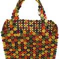 Quà tặng handmade: Túi xách kết từ nút áo
