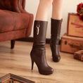 Boots nữ cao gót