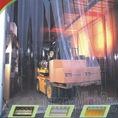 Màn nhựa mềm PVC ngăn lạnh ,cản bụi ,cản côn trùng tiết kiệm chi phí cho DN, màn cửa kho đông lạnh