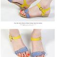 Sandals đế bệt Hàn Quốc thu hút mọi ánh nhìn