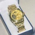 Đồng hồ nam Omega dạng cơ dây inox cá tính