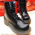 TomTom Shop Combat Boots nam, boots cá tính. boots nạm đinh, Dr Martens có sẵn
