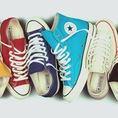 Giày Converse chuẩn Việt Nam, có tem Made in VietNam, gót giày được dập chữ nỗi dễ nhân biết. Chu đáo và tin cậy