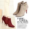 TỰ TIN LÀ CHÍNH MÌNH...Giầy boot cổ thấp,boot nữ hở mũi,giày boot cao gót,boot cổ ngắn cao gót,giày nữ hàn quốc,boot nu