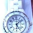 Đồng hồ thời trang Rado,Channel mặt đồng hồ được bọc Ceramics màu trắng sứ,máy đồng hồ chạy pin,xuất xứ Hong Kong