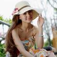 Mũ cói hè dễ thương, mũ vành rộng, mũ phớt cực xinh, cực phong cách cho mùa hè 2014