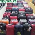 Vali kéo Balo Túi du lịch cần kéo GIÁ RẺ NHẤT ở Hà Nội, Vali da Valy nhựa chính hãng Sakos Leaves King Sky walkers Macat