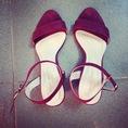 Thanh lý em sandal Zara đỏ đun