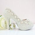 Các thiết kế giày cao gót High Heels với các họa tiết decor hand made tinh tế.