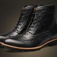 GIÀY BOOT NAM, giày cao cổ phong cách Hàn Quốc, hàng có sẵn.