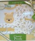 Bộ quà tặng gấu POOH made in Thailand dành cho trẻ sơ sinh đến 6 tháng